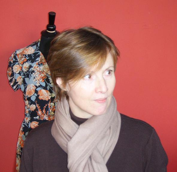 Photograph of Bridget Wren (née Barker) by Ian Mortimer, in Exeter, January 2006